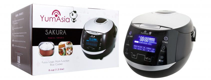 Sakura ceramic rice cooker and box