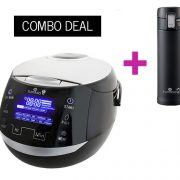 Sakura ceramic rice cooker and Tafu thermal mug