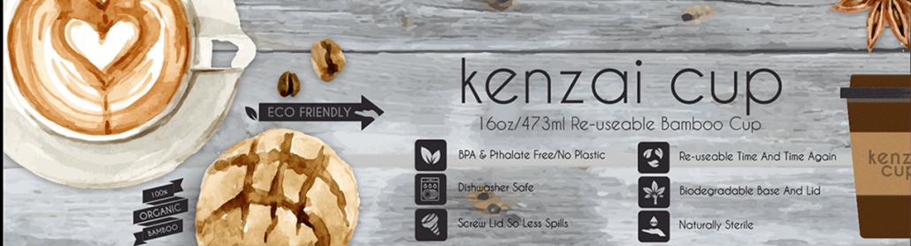 Kenzai cup information banner
