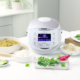 New white colour sakura 2020 multifunction rice cooker