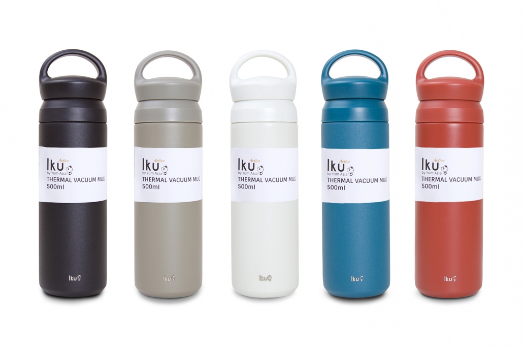 Iku Active Thermal Mugs